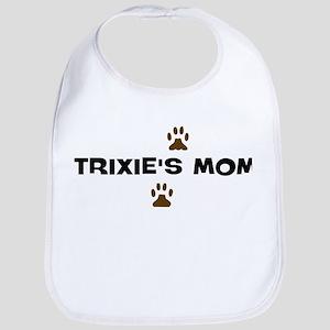 Trixie Baby dog name trixie baby bibs - cafepress