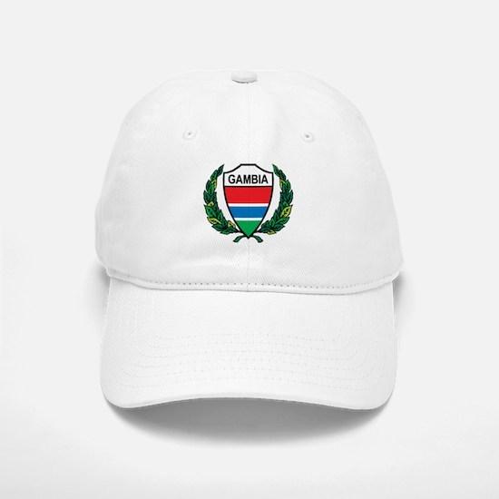 Stylized Gambia Baseball Baseball Cap