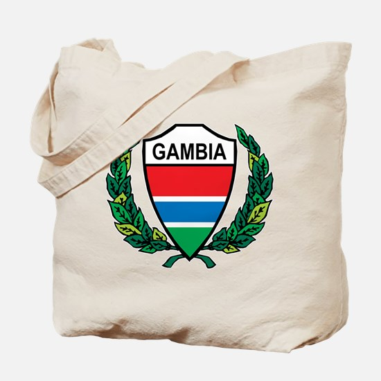 Stylized Gambia Tote Bag