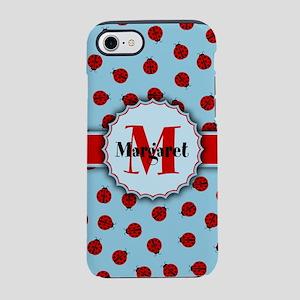 MONOGRAM Ladybug Pattern iPhone 8/7 Tough Case