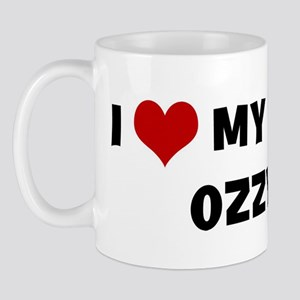 I Love My Dog Ozzy Mug