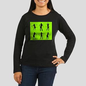 Women's Hooper Long Sleeve Dark T-Shirt