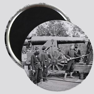 Cannon Ft Woodbury 1863 Magnet