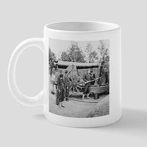 Cannon Ft Woodbury 1863 Mug
