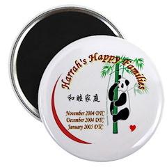 Harrah's Happy Families Magnet