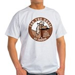 For The Horse of Course Ash Grey T-Shirt