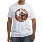 For The Horse of Course Fitted T-Shirt