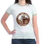 For The Horse of Course Jr. Ringer T-Shirt