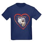 Smart Blondes Kids Dark T-Shirt
