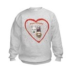 Smart Blondes Kids Sweatshirt