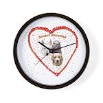 Smart Blondes Wall Clock