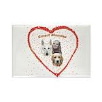 Smart Blondes Rectangle Magnet (100 pack)
