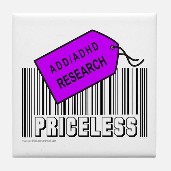ADD/ADHD CAUSE Tile Coaster