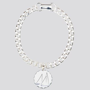 sailing Charm Bracelet, One Charm