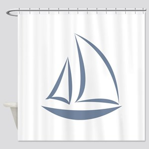 segeln Shower Curtain