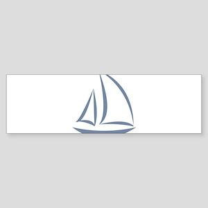segeln Bumper Sticker