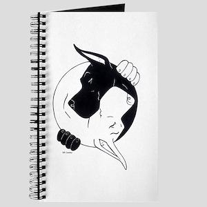 B/W Great Dane YY Notepad