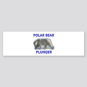 PLUNGER Bumper Sticker