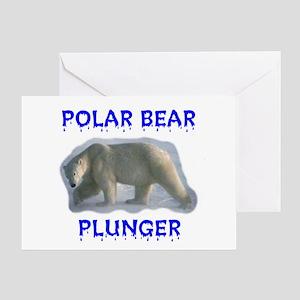 PLUNGER Greeting Card