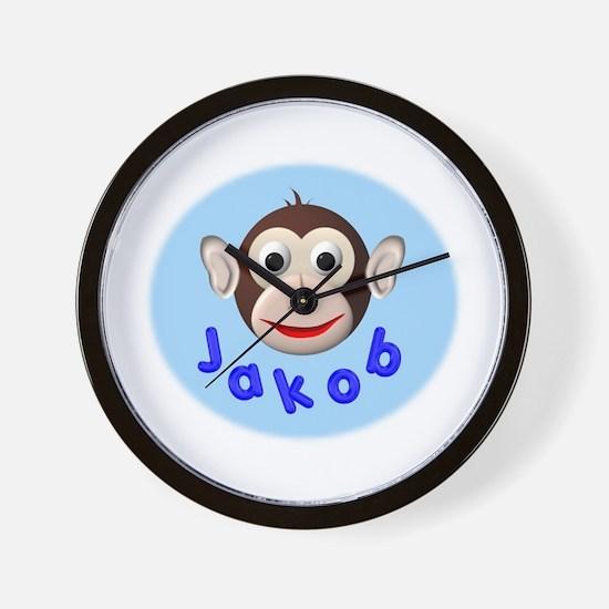 Monkey Jakob Wall Clock