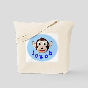 Monkey Jakob Tote Bag