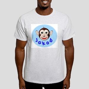 Monkey Jakob Ash Grey T-Shirt
