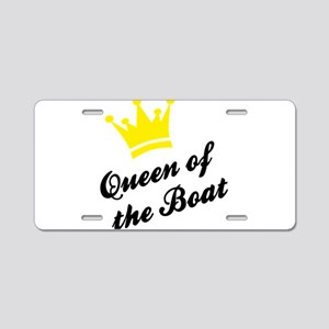 boat Aluminum License Plate