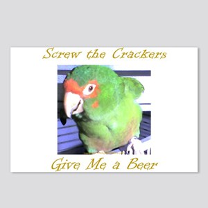 Screw the Crackers Postcards (Package of 8)