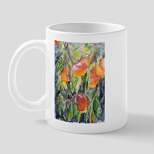 peaches still life fine art g Mug