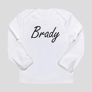 Brady surname artistic design Long Sleeve T-Shirt