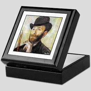 "Faces ""Degas"" Keepsake Box"