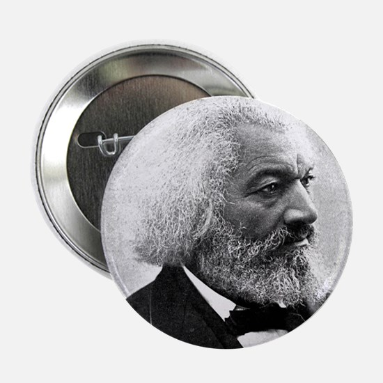 "Faces ""Douglass"" 2.25"" Button"