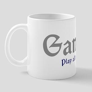 Gamers Play All Night Long Mug