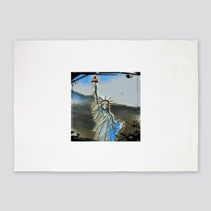 Statue Of Liberty 4 Merchandise 5'x7'Area Rug
