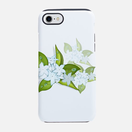 Jasmine Flowers iPhone 8/7 Tough Case