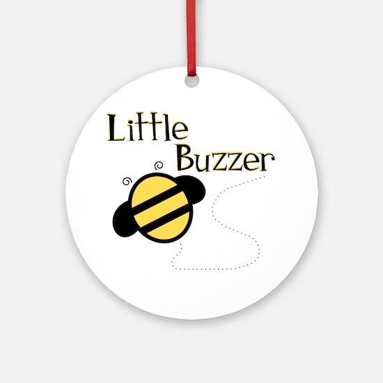 Little Buzzer Bumblebee Ornament (Round)