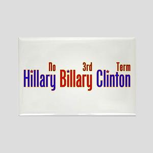 Hillary Billary Clinton Rectangle Magnet