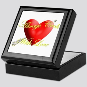 Always Cook With Love Keepsake Box
