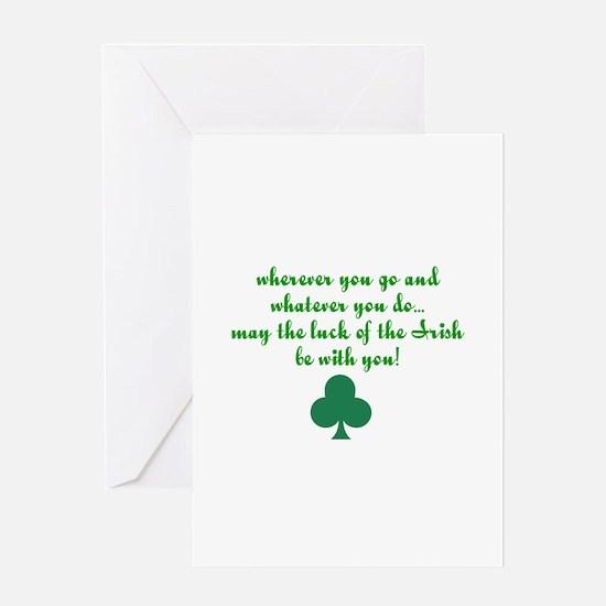 Lucky Irish Greeting Card