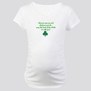 Lucky Irish Maternity T-Shirt