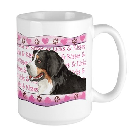 Berner Valentine Large Mug
