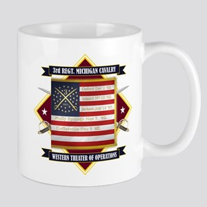3rd Michigan Cavalry Mugs