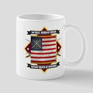 3rd Michigan Cavalry Mugs