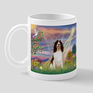 Cloud Angel & Springer Mug