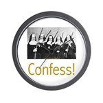 Confess! Wall Clock