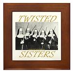 Twisted Sisters Framed Tile