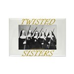 Twisted Sisters Rectangle Magnet