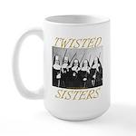Twisted Sisters Large Mug