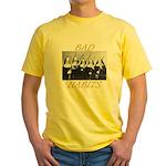 Bad Habits Yellow T-Shirt