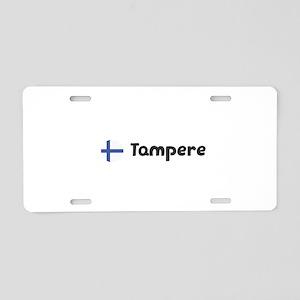 Tampere Aluminum License Plate